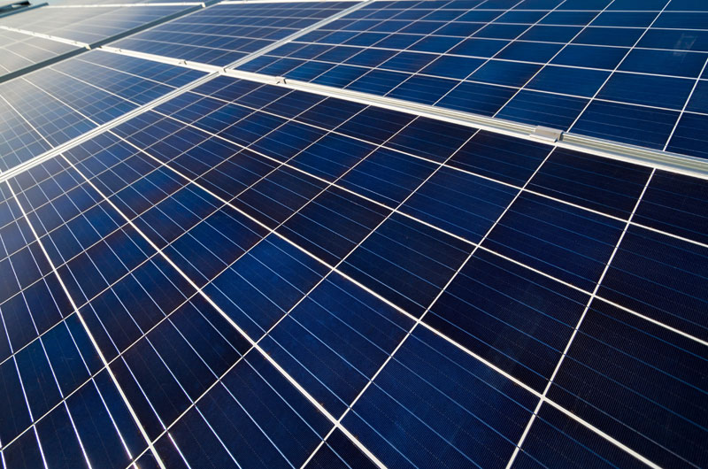 instal·lació d'una planta fotovoltaica