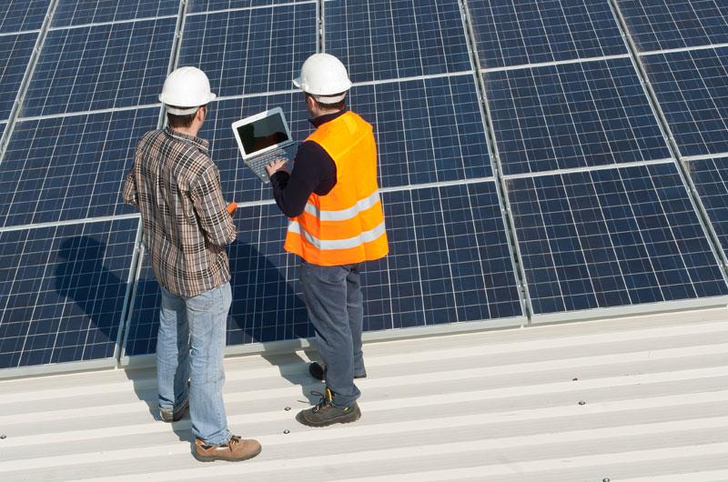 instal·lació d'una planta fotovoltaica 2